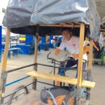 Pedicabs across the borders